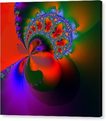 Passion Fruit Canvas Print by Solomon Barroa