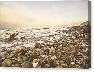 Pastel Sea Landscape Canvas Print by Jorgo Photography - Wall Art Gallery