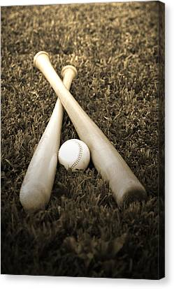 Pastime Canvas Print by Shawn Wood