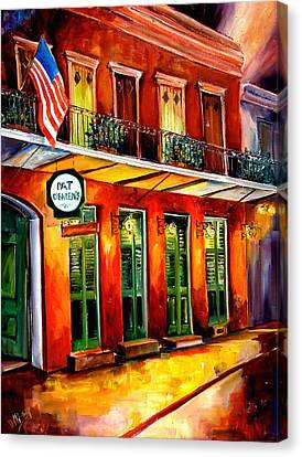 Pat O Briens Bar Canvas Print by Diane Millsap