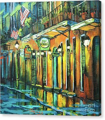 Pat O Briens Canvas Print by Dianne Parks