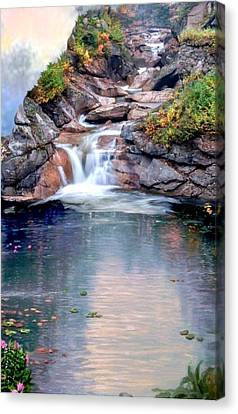 Path Least Followed Sec 3 Canvas Print by Ron Chambers
