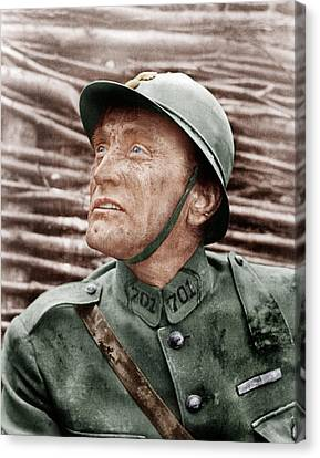 Paths Of Glory, Kirk Douglas, 1957 Canvas Print by Everett