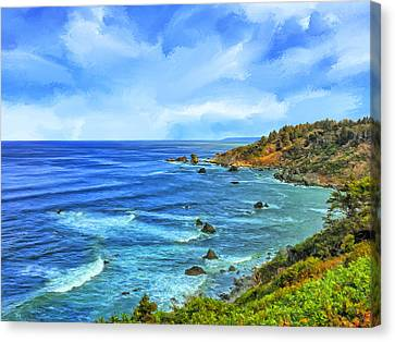 Patrick's Point Canvas Print by Dominic Piperata