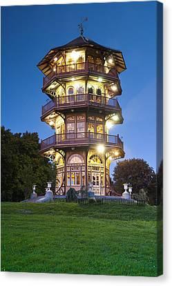 Patterson Park Pagoda. Baltimore Maryland  Canvas Print by Matthew Saindon
