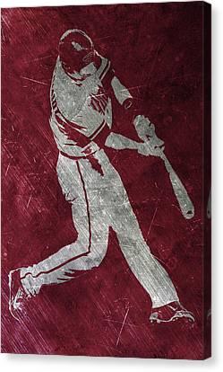 Paul Goldschmidt Arizona Diamondbacks Art Canvas Print by Joe Hamilton
