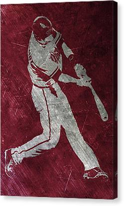 Paul Goldschmidt Arizona Diamondbacks Art Canvas Print by Joe Hamilton