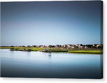Pawleys Island North Causeway Canvas Print by Ivo Kerssemakers