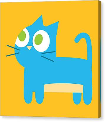 Pbs Kids Cat Canvas Print by Pbs Kids