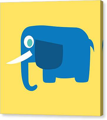 Pbs Kids Elephant Canvas Print by Pbs Kids