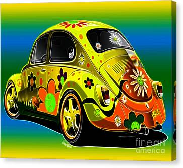 Peace Canvas Print by Cheryl Young
