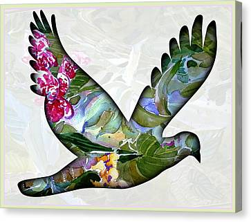 Peace For Peace Canvas Print by Mindy Newman