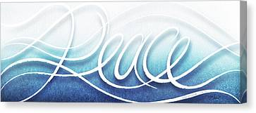 Peace Like A River Canvas Print by Shevon Johnson