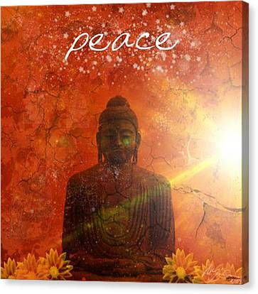 Peace Canvas Print by Michelle Foster