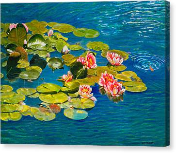 Peaceful Belonging Canvas Print by Michael Durst