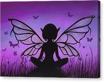 Peaceful Meadows Canvas Print by Elaina  Wagner