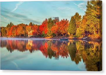 Peaceful Morning Canvas Print by Mark Papke