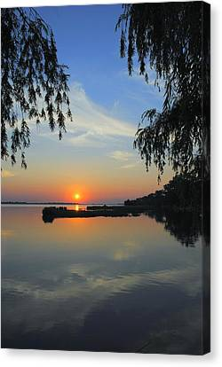 Peaceful Canvas Print by Frozen in Time Fine Art Photography