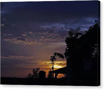 Peaceful Sunset Canvas Print by James Granberry