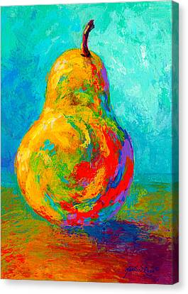 Pear I Canvas Print by Marion Rose