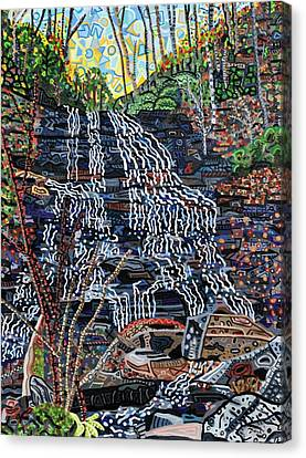 Pearson's Falls Canvas Print by Micah Mullen