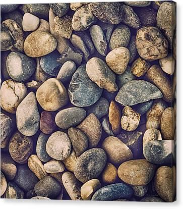 Pebbles Canvas Print by Wim Lanclus