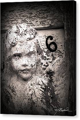 Peeling Paint Number 6 Canvas Print by Melissa Wyatt