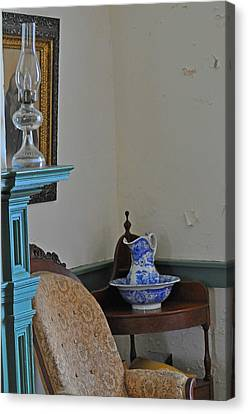 Peeling Paint Canvas Print by Peter  McIntosh