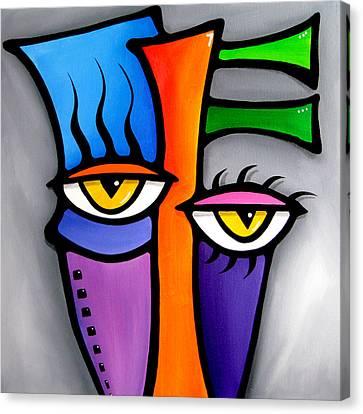 Peepers Canvas Print by Tom Fedro - Fidostudio