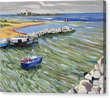 Peerlessly Outbound Canvas Print by Phil Chadwick