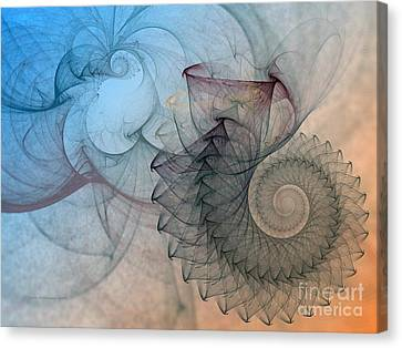 Pefect Spiral Canvas Print by Karin Kuhlmann