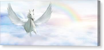 Pegasus Canvas Print by John Edwards