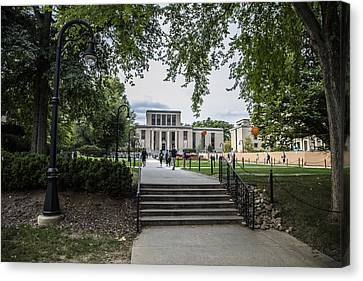 Penn State Library  Canvas Print by John McGraw