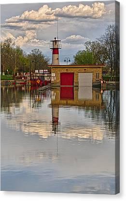 Tenney Lock 2 - Madison - Wisconsin Canvas Print by Steven Ralser