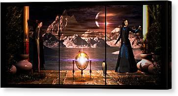 Penquin Magic Canvas Print by Bob Orsillo