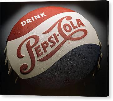 Pepsi Sign Canvas Print by Bob Nardi