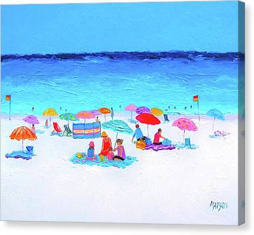 Perfect Day Canvas Print by Jan Matson