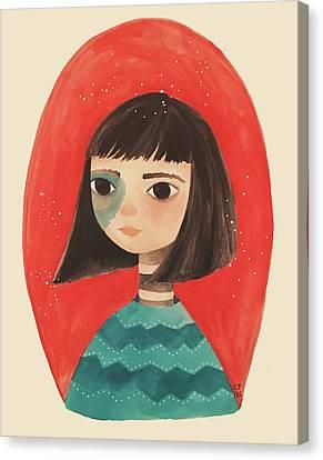Permanent Contemplation Canvas Print by Carolina Parada