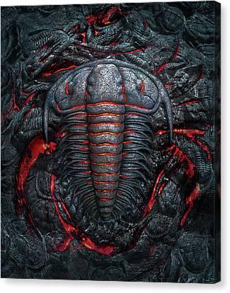 Permian Heat Canvas Print by Jerry LoFaro