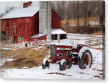 Perry County Farm Canvas Print by Lori Deiter
