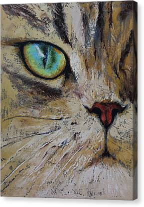 Persian Cat Canvas Print by Michael Creese