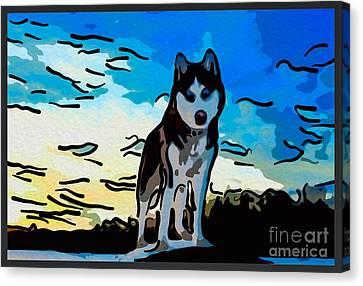 Pet Gone Wild Canvas Print by Omaste Witkowski