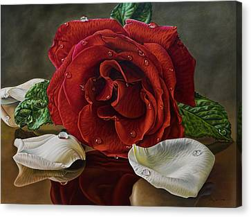 Petals Canvas Print by Ellery Gutierrez