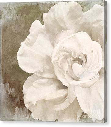 Petals Impasto II Canvas Print by Mindy Sommers