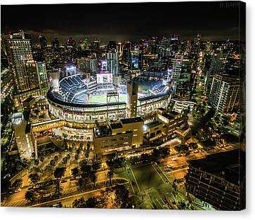 Petco Park Canvas Print by Doug Barr
