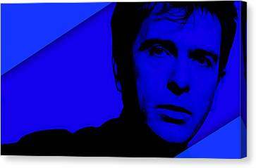 Peter Gabriel Collection Canvas Print by Marvin Blaine