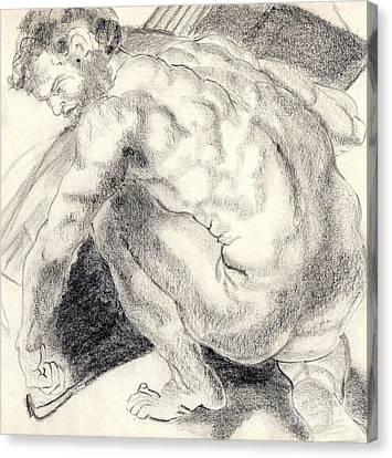 Peter Canvas Print by Harriet Davidsohn