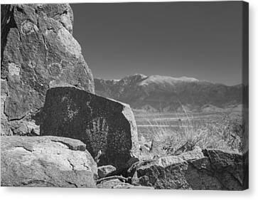 Petroglyphs Canvas Print by Joseph Smith