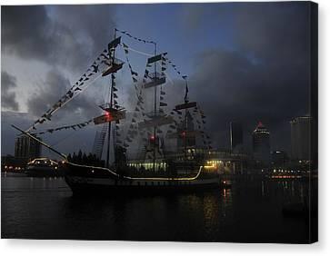 Phantom Ship Canvas Print by David Lee Thompson