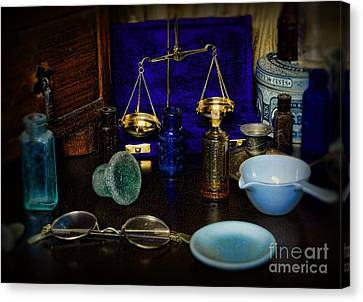 Pharmacist - Scale And Measure Canvas Print by Paul Ward